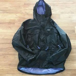 Patagonia winter snow ski coat mens xl black